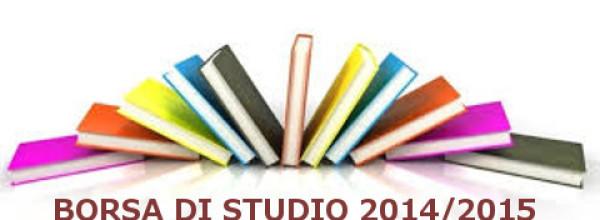 Bando Borsa di studio a.s. 2014/2015