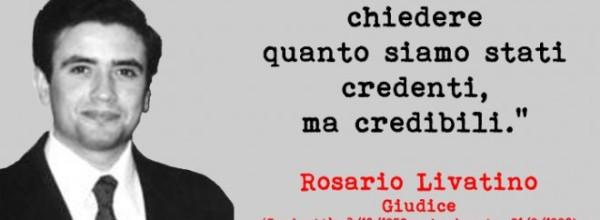 """Il dibattito su Rosario Livatino. Caterina Chinnici: """"No all'alibi dell'eroe, tutti possono contribuire a combattere l'illegalità""""."""